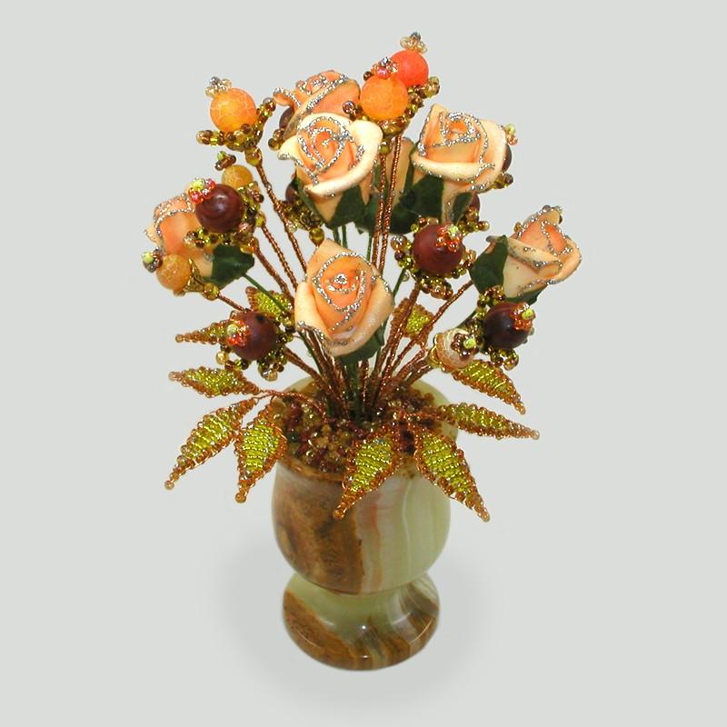 Цветок из агата История любви