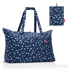 Складная сумка Mini maxi travelbag spots navy