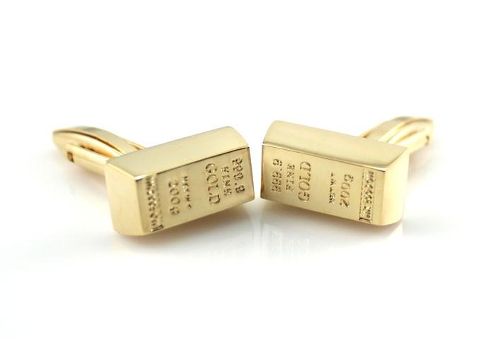 Позолоченные запонки Fine Gold