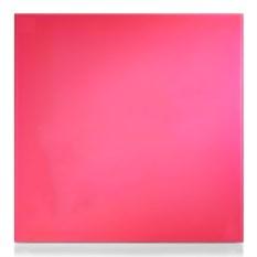 Стеклянная розовая магнитно-маркерная доска Askell
