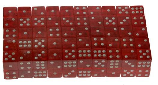 Кубик для игры в кости