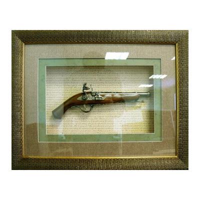 Панно настенное «Пистолет»