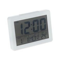 Часы-будильник LuazON LB-04 с LED подсветкой White