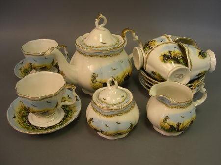 Чайеый набор «Охота»
