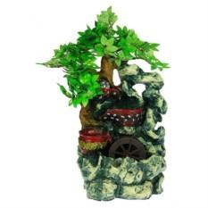 Декоративный фонтан Бонсай с подсветкой
