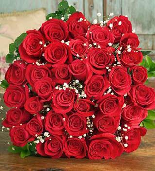 Букет из роз «Амбра»