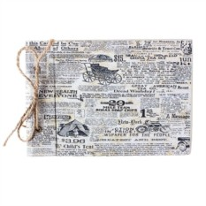 Винтажный блокнот Newspaper