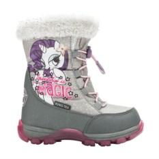 Серые сноубутсы на шнуровке My Little Pony