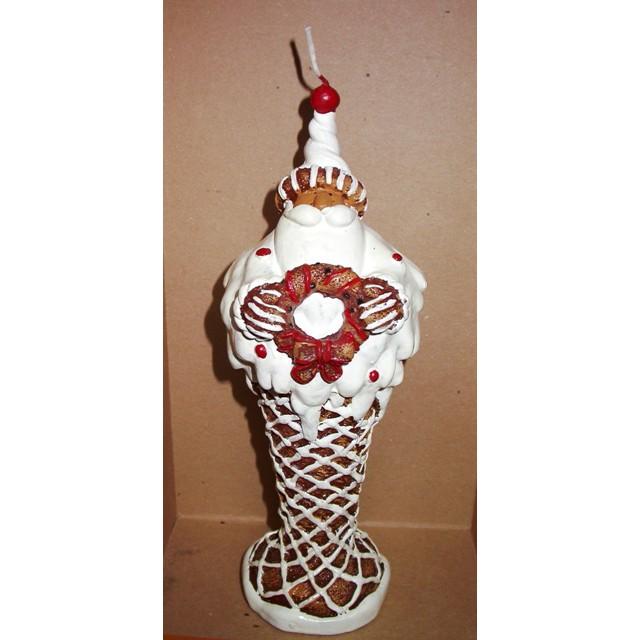 Свеча «Дед Мороз-Пряник»