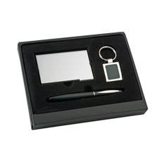 Подарочный набор аксессуаров, 3 предмета, черный