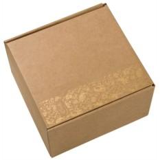 Подарочная коробка с ложементом под чайную пару