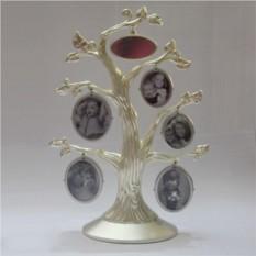 Глянцевая фоторамка Древо в золотом цвете
