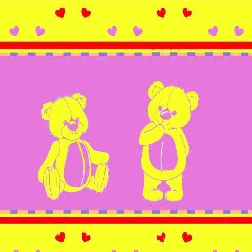 Детский плед «Мишки»