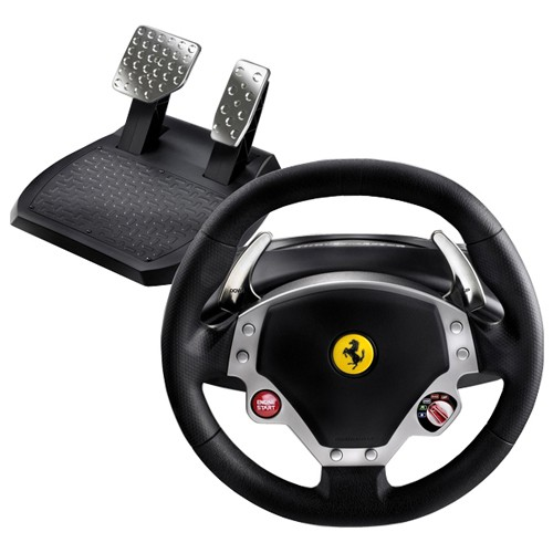 Руль и педали для PC Ferrari F430 Force Feedback Racing Wheel (ThrustMaster)