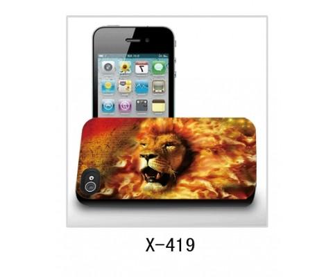 Панель для iPhone «Лев в огне»