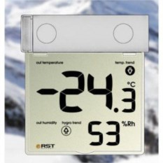 Термо-гигрометр на липучке