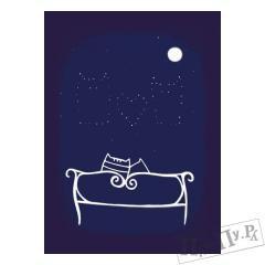 КОТкрытка Под звездами