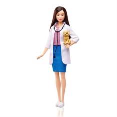 Кукла Barbie из серии Кем быть? (ветеринар)