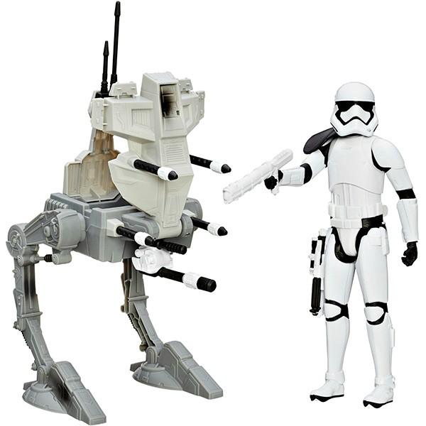 Игровой набор Star Wars Герои Звездных войн с транспортом