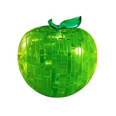 Головоломка 3D Crystal Puzzle Зеленое яблоко