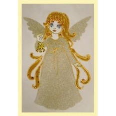 Хрустальная картина Ангельский звон, 102 кристалла, 10х15 см