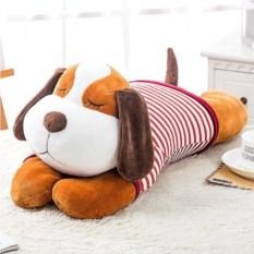 Мягкая игрушка Собака с большими ушками в тельняшке