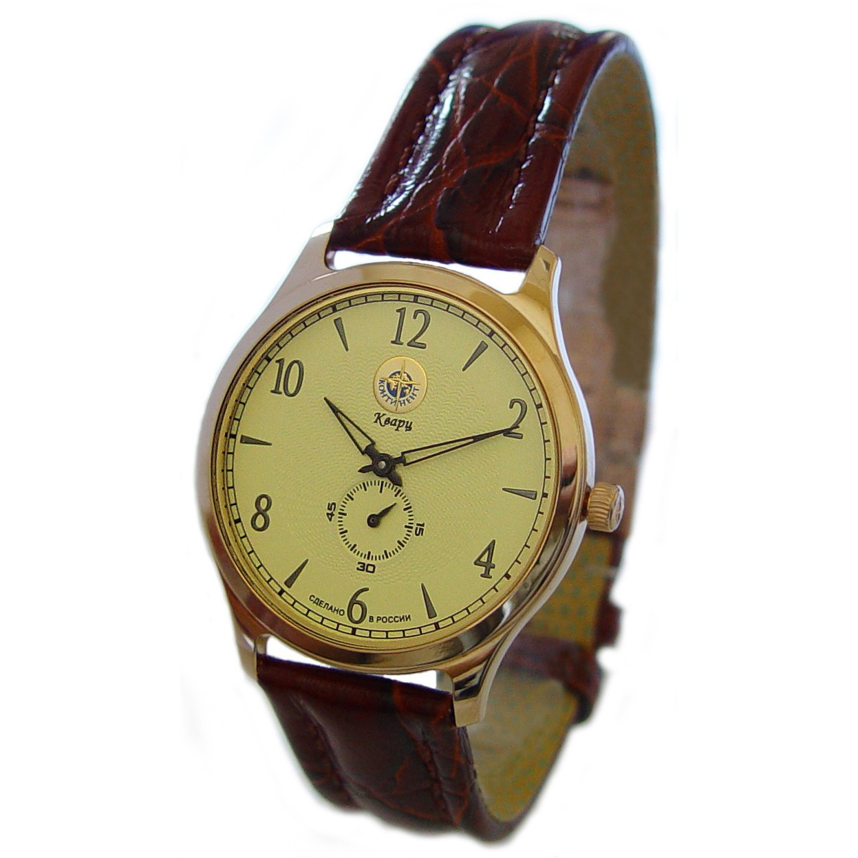 Золотые часы «Галант»
