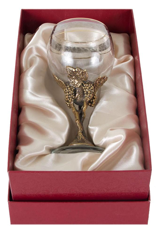 Подарочный бокал для красного вина Виноград