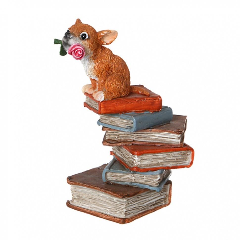 Фигурка Мышь на книгах