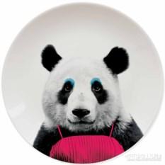 Тарелка Wild Dining Панда