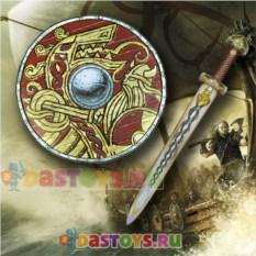 Игровой набор викинга Щит и меч