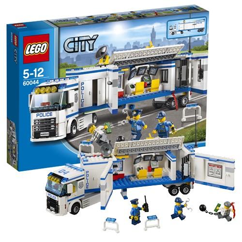 Конструктор LEGO CITY Выездной отряд полиции