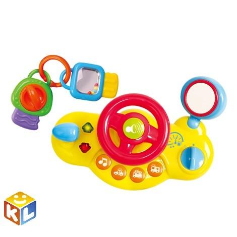 Активный игровой центр Playgo Руль c ключами