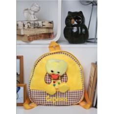 Детский рюкзак с именной вышивкой Утенок
