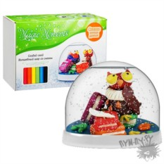 Набор Создай Волшебный шар со снегом. Совушка