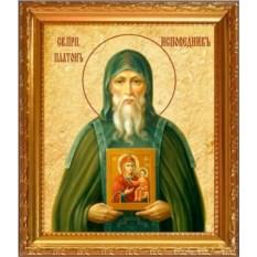 Икона на холсте Платон Студийский Преподобный исповедник
