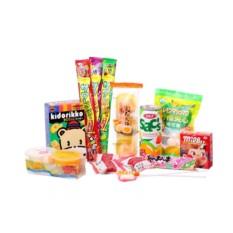 Большая посылка из Японских сладостей