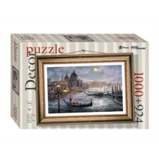 Мозаика-пазл + рамка Вечер в Венеции