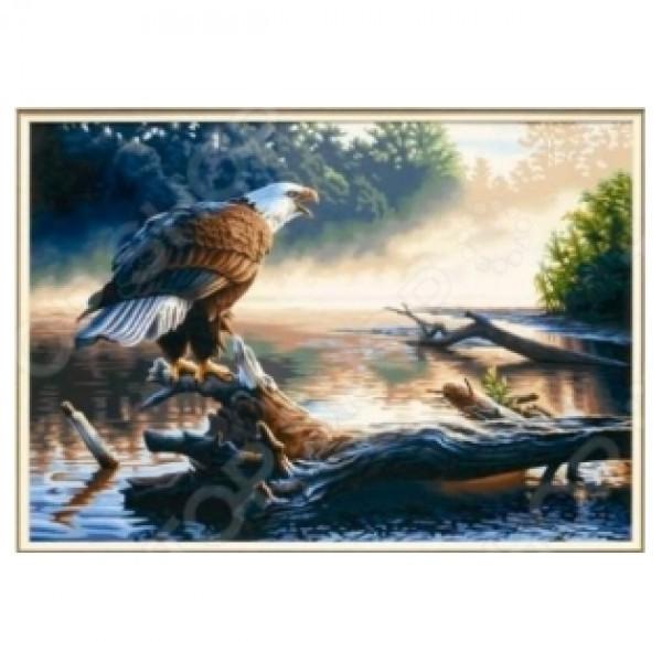 Картина-раскраска по номерам на холсте Дозор