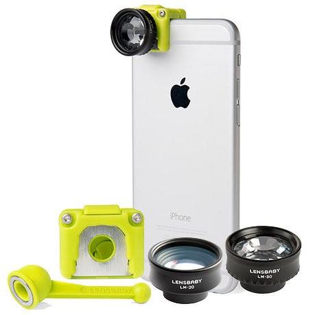 Набор объективов Lensbaby Creative Mobile Kit на iPhone 6/6S