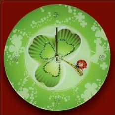 Часы с кристаллами Swarovski Клевер