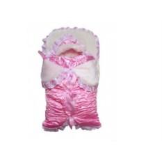 Комплект на выписку малыша Бантики с подушкой