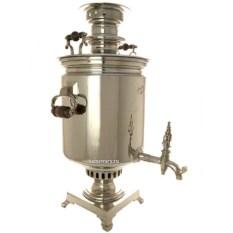 Угольный самовар на 16 литров Цилиндр