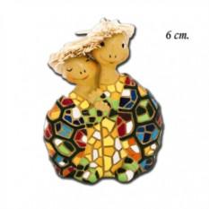 Статуэтка Черепашки в шляпках