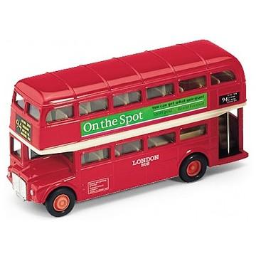 Модель автобуса London Bus от Welly