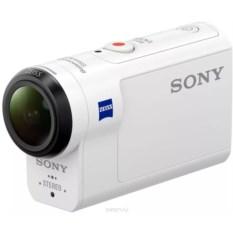 Белая экшн-камера Sony HDR-AS300