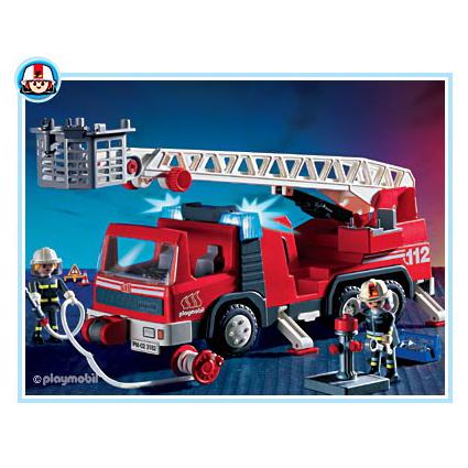 Игрушка Пожарная машина с лестницей