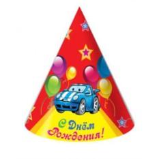 Колпак для праздника С Днем Рождения! Гоночное авто