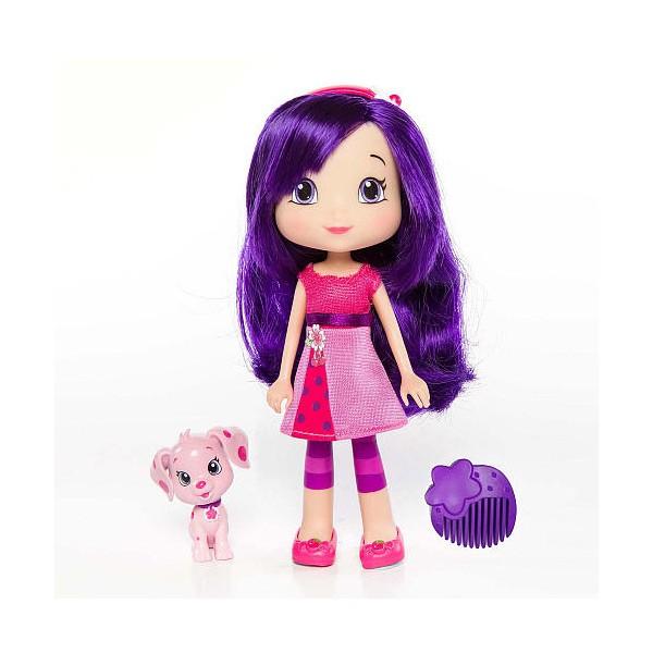 Кукла с питомцем Strawberry Shortcake Вишенка