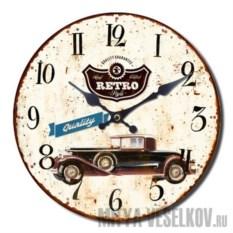 Настенные часы Винтажное авто-2